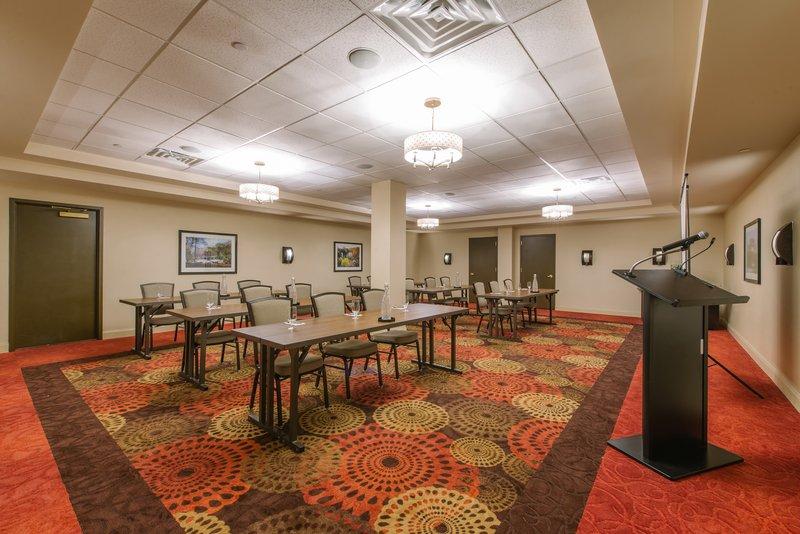 Holiday Inn Mt. Kisco-Cisqua West comfortably sits 40- set Classroom style<br/>Image from Leonardo