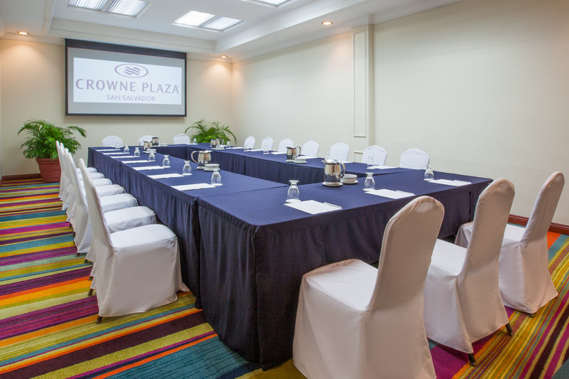 Crowne Plaza San Salvador-Chichontepec Meeting Room<br/>Image from Leonardo