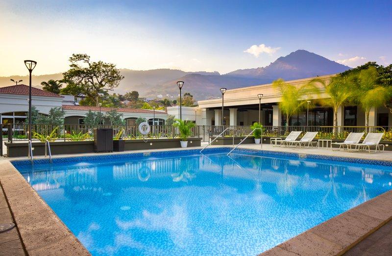 Crowne Plaza San Salvador-Outdoor Swimming Pool<br/>Image from Leonardo