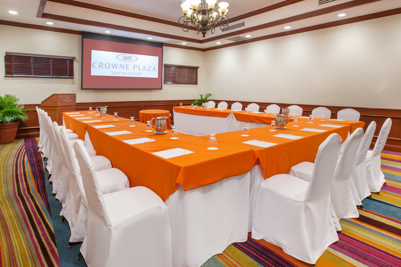 Crowne Plaza San Salvador-Apaneca Meeting Room<br/>Image from Leonardo