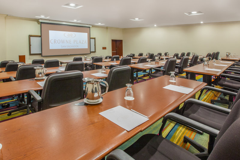 Crowne Plaza San Salvador-Lamatepec Meeting Room<br/>Image from Leonardo