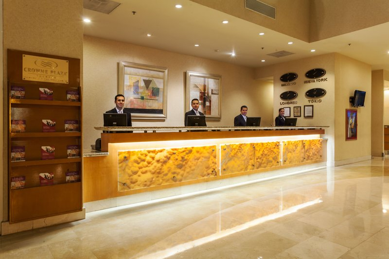 Crowne Plaza Torreon-Front Desk<br/>Image from Leonardo
