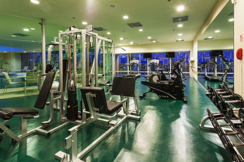 Crowne Plaza Torreon-Work out in the well-equipped Fitness Center<br/>Image from Leonardo