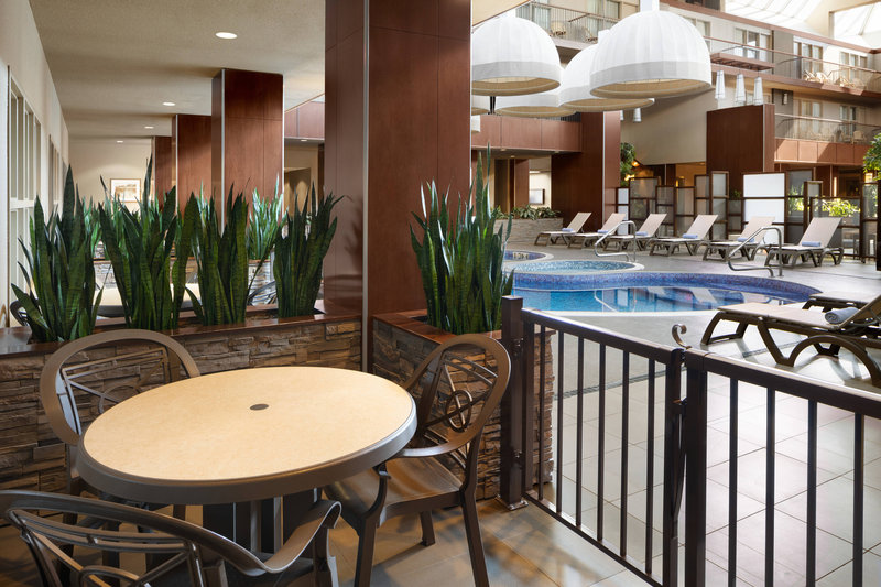 Delta Hotel Calgary South-Pool Side Patio<br/>Image from Leonardo