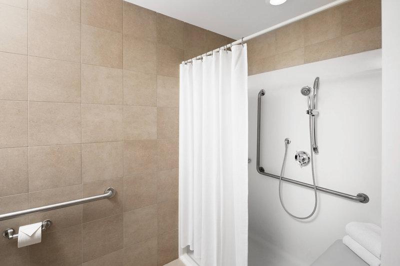 Delta Hotel Calgary South-Accessible Bathroom<br/>Image from Leonardo