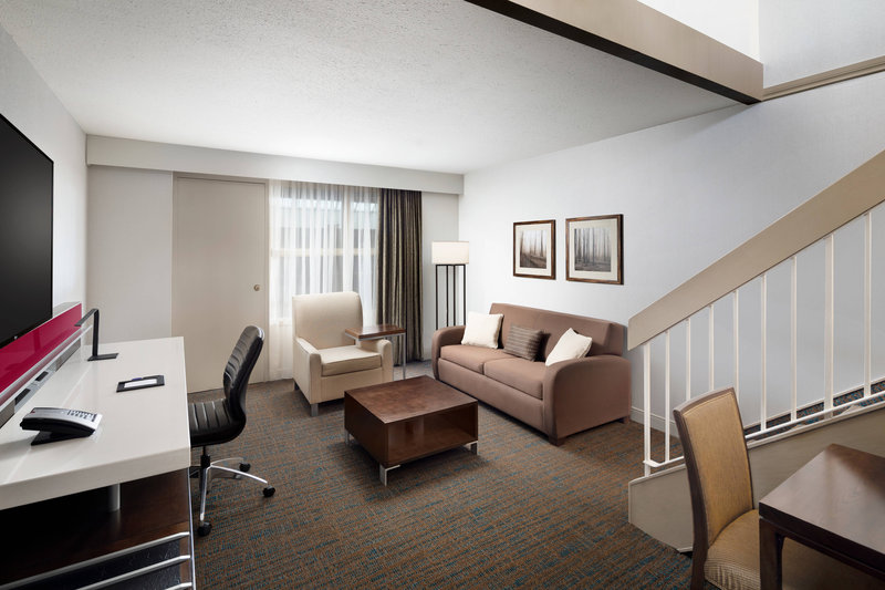 Delta Hotel Calgary South-Loft Living Area<br/>Image from Leonardo