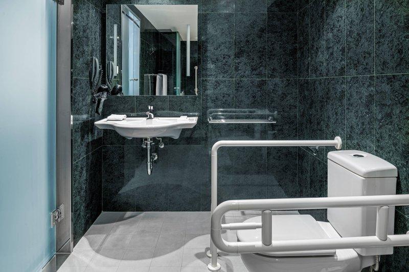 AC La Rioja-Accessible Bathroom<br/>Image from Leonardo