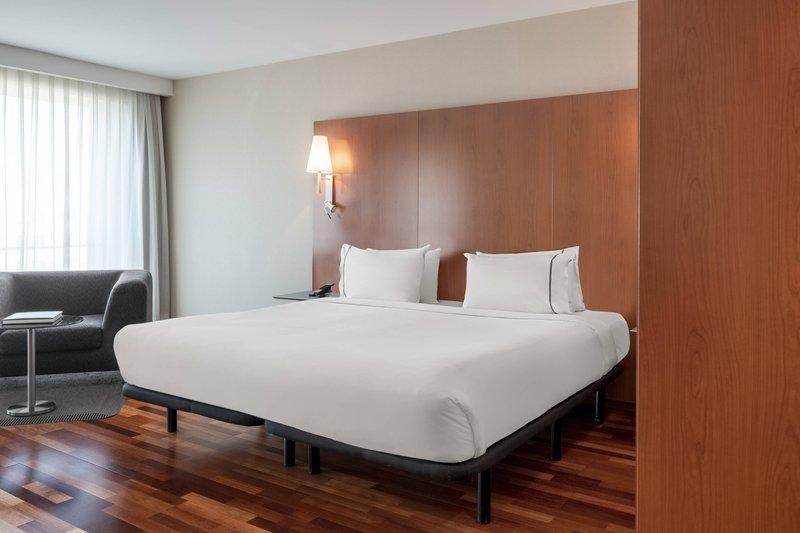 AC La Rioja-Junior Suite - Sleeping Area<br/>Image from Leonardo