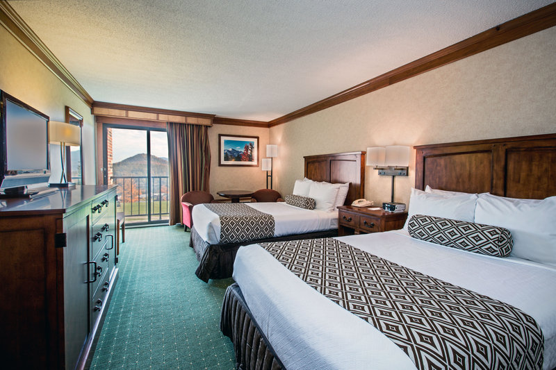 Crowne Plaza Lake Placid-2 Queen Bed Guest Room with Lake View<br/>Image from Leonardo