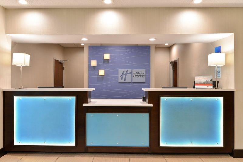 Holiday Inn Express & Suites Cincinnati - Blue Ash-Front Desk<br/>Image from Leonardo
