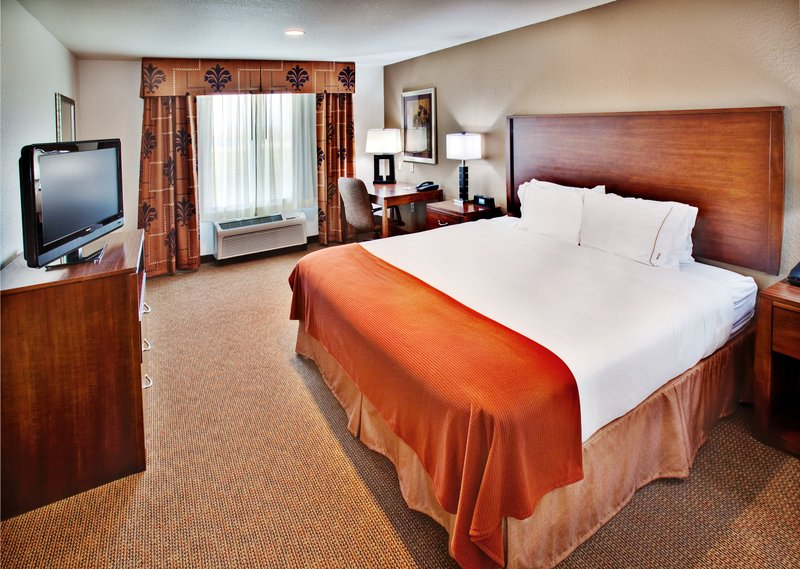 Holiday Inn Express Hotel & Suites Dubuque - West-Holiday Inn Express  Dubuque, IA King Bed Guest Room<br/>Image from Leonardo