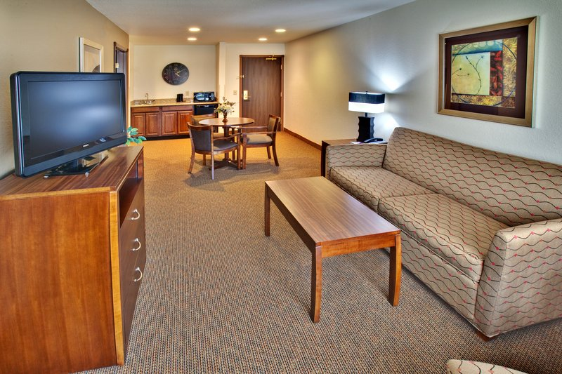 Holiday Inn Express Hotel & Suites Dubuque - West-Holiday Inn Express & Suites Dubuque, IA Suite<br/>Image from Leonardo