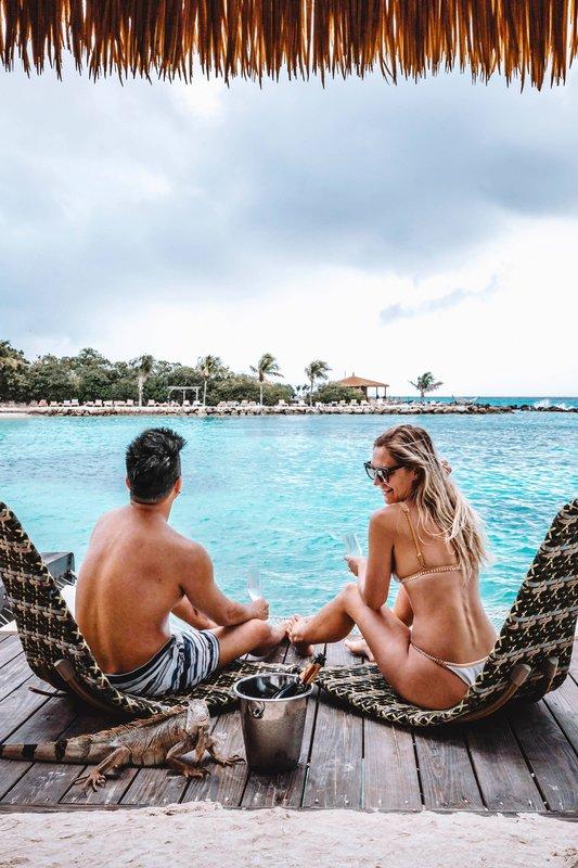 Renaissance Aruba Resort & Casino - Private Island Cabanas <br/>Image from Leonardo