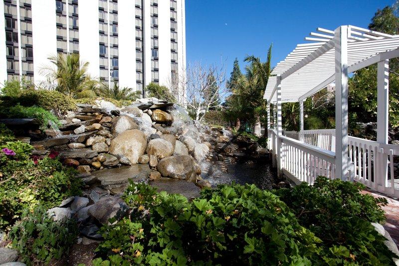 Holiday Inn Burbank - Media Center-Burbank Hotel Waterfall in our beautiful garden park.<br/>Image from Leonardo