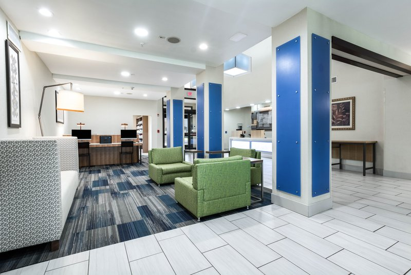 Holiday Inn Express Suites Jasper-Hotel Lobby<br/>Image from Leonardo