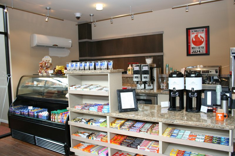 Holiday Inn Knoxville Downtown-Fairgrounds Coffee Shop<br/>Image from Leonardo