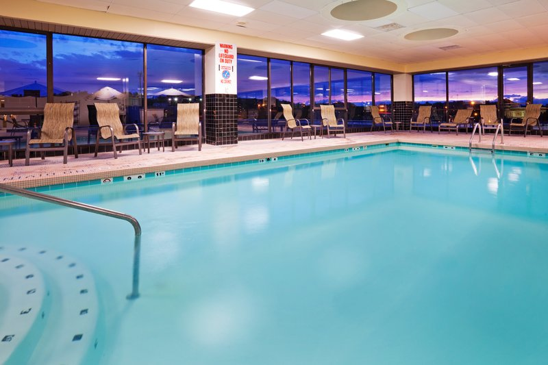 Holiday Inn Knoxville Downtown-Swimming Pool Features View of the World's Fair Park<br/>Image from Leonardo
