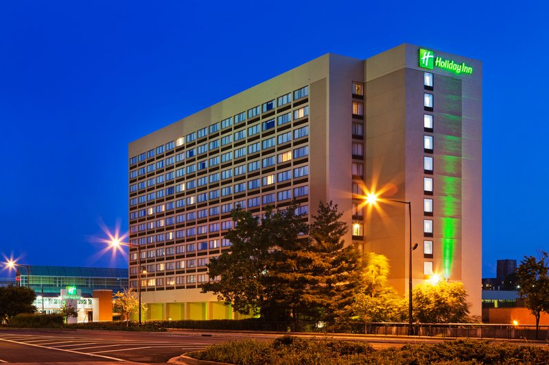 Holiday Inn Knoxville Downtown-Hotel Exterior at Night<br/>Image from Leonardo