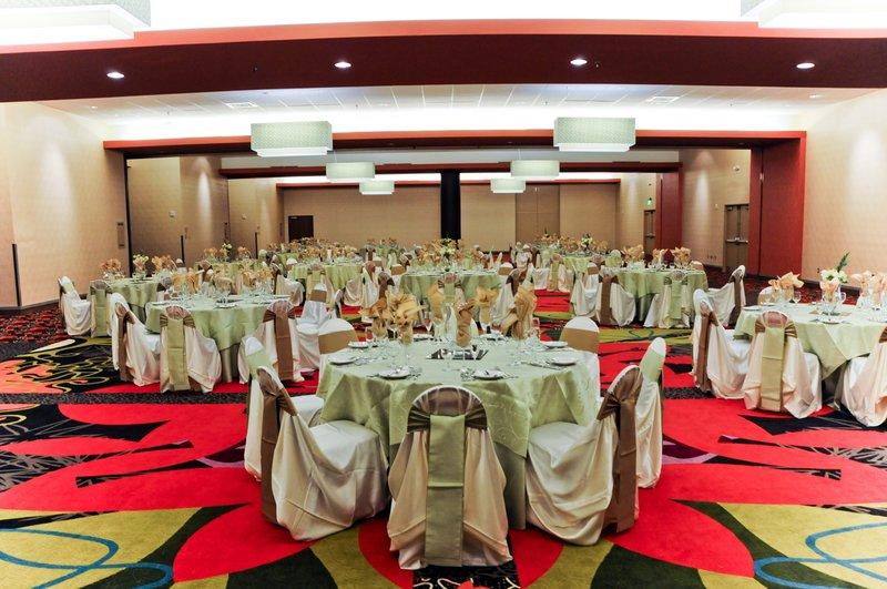 Holiday Inn Knoxville Downtown-Wedding Reception Grand Pavilion Grand Ballroom<br/>Image from Leonardo