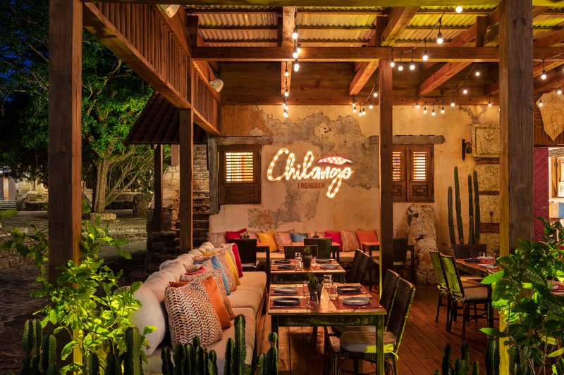 Casa De Campo - Chilango Taqueria at night <br/>Image from Leonardo