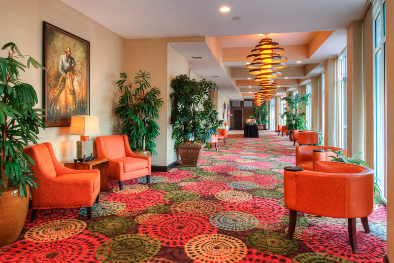 Holiday Inn Amarillo West Medical Center-Elegantly set to welcome guests and allow pre-function networking.<br/>Image from Leonardo