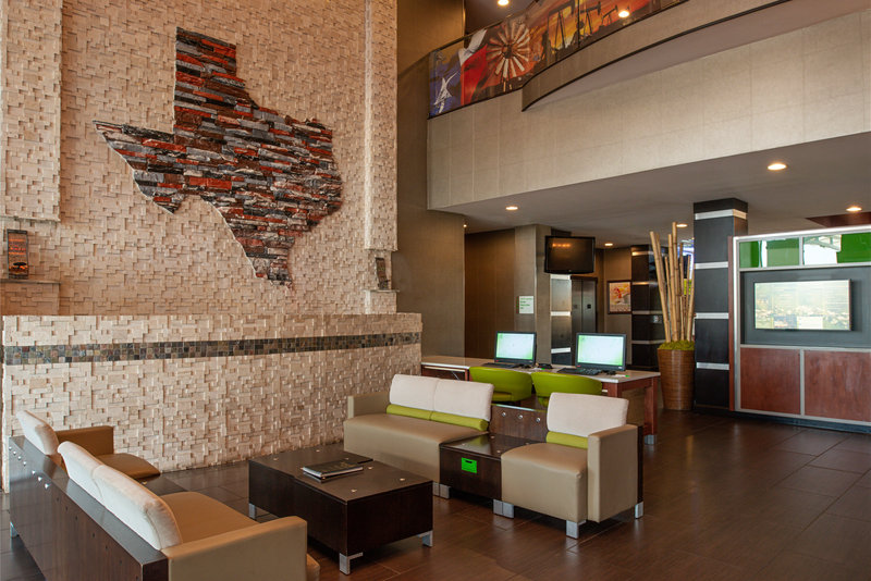 Holiday Inn Amarillo West Medical Center-Relax in our warm and welcoming lobby<br/>Image from Leonardo