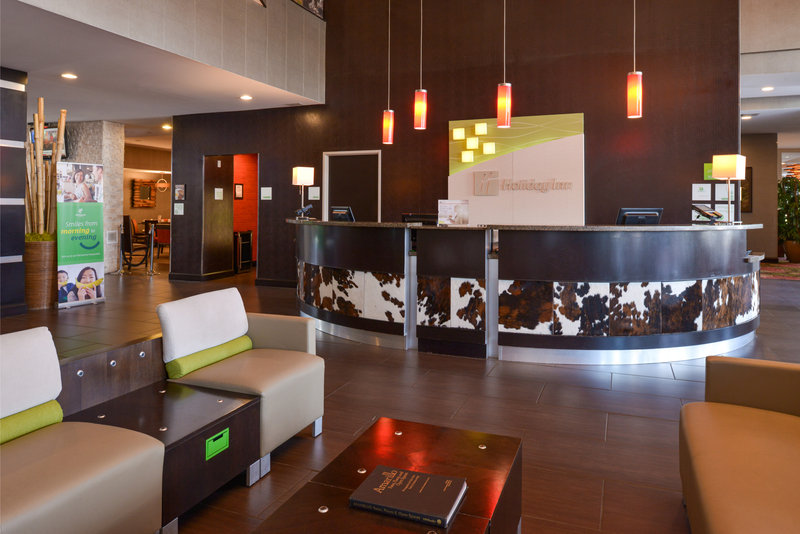 Holiday Inn Amarillo West Medical Center-The Front Desk where expert and friendly staff are ready to help.<br/>Image from Leonardo