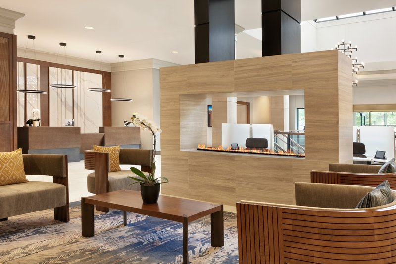 Crowne Plaza Philadelphia - King of Prussia-Relax with a drink in our newly renovated lobby.<br/>Image from Leonardo