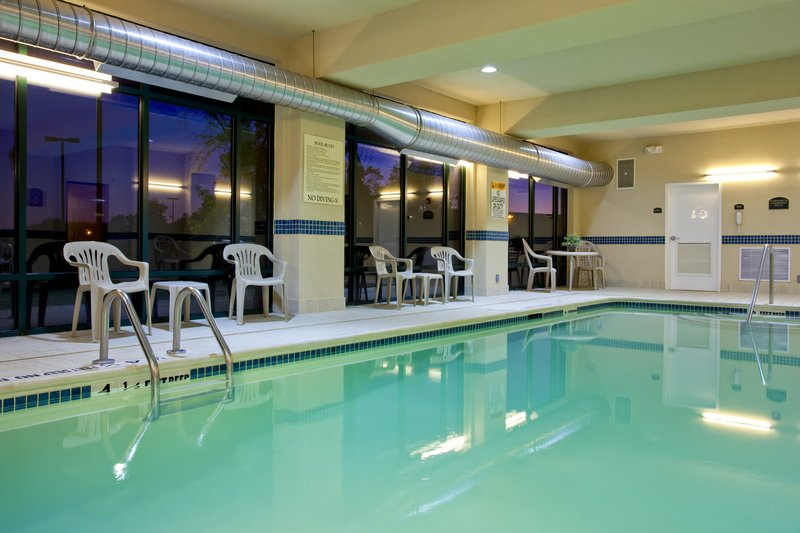 Holiday Inn Express Syracuse Airport-Swimming Pool<br/>Image from Leonardo
