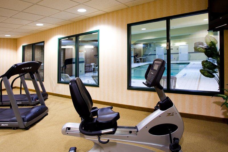 Holiday Inn Express Syracuse Airport-Fitness Center<br/>Image from Leonardo