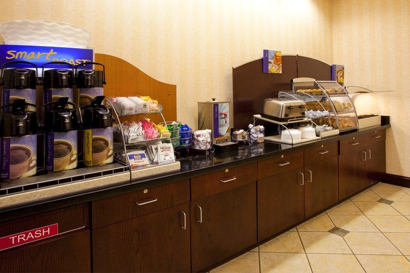 Holiday Inn Express Syracuse Airport-Breakfast Area<br/>Image from Leonardo