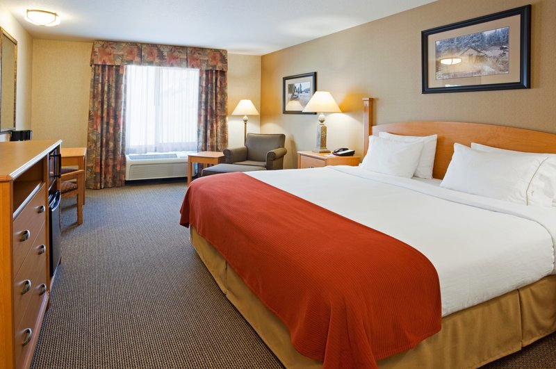 Holiday Inn Express & Suites Custer-King Bed Guest Room<br/>Image from Leonardo