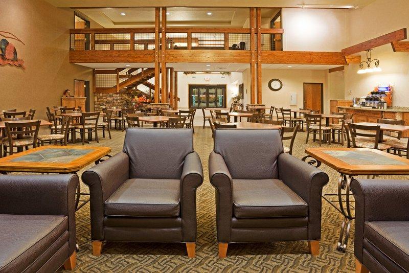 Holiday Inn Express & Suites Custer-Breakfast Bar<br/>Image from Leonardo