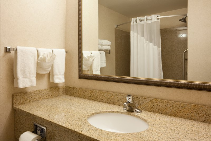 Holiday Inn Express & Suites Custer-Beautiful Granite Bathrooms<br/>Image from Leonardo