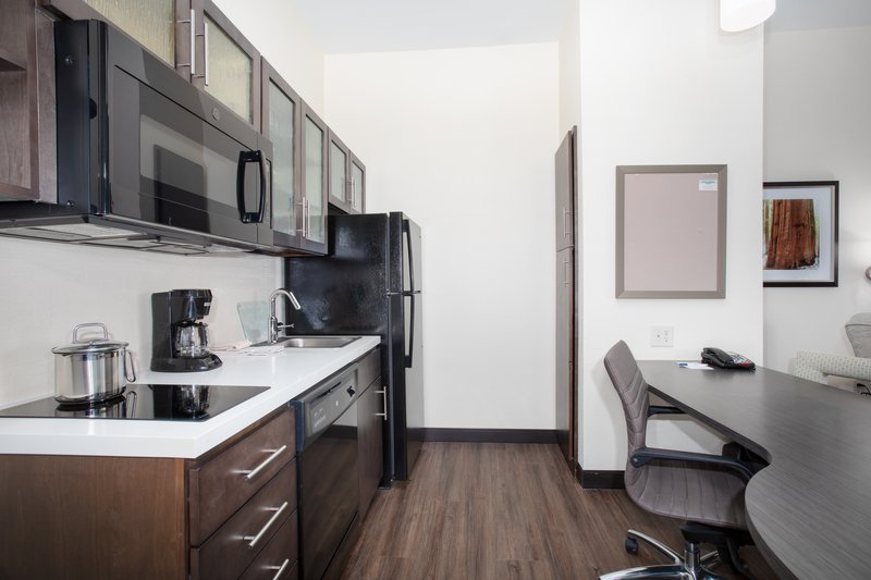 Candlewood Suites Cheyenne-Kitchen in our 1 bedroom suite!<br/>Image from Leonardo
