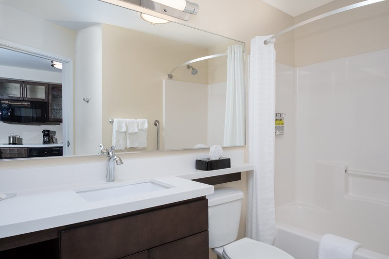 Candlewood Suites Cheyenne-Guest Bathroom <br/>Image from Leonardo