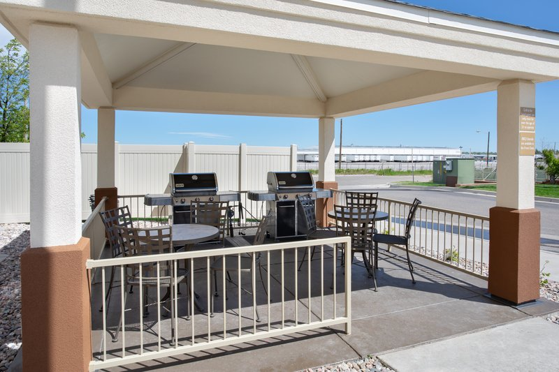Candlewood Suites Cheyenne-Relax as you BBQ in our gazebo area<br/>Image from Leonardo