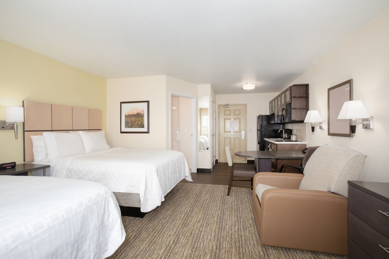 Candlewood Suites Cheyenne-Studio Suite 2 Double Beds Nonsmoking <br/>Image from Leonardo