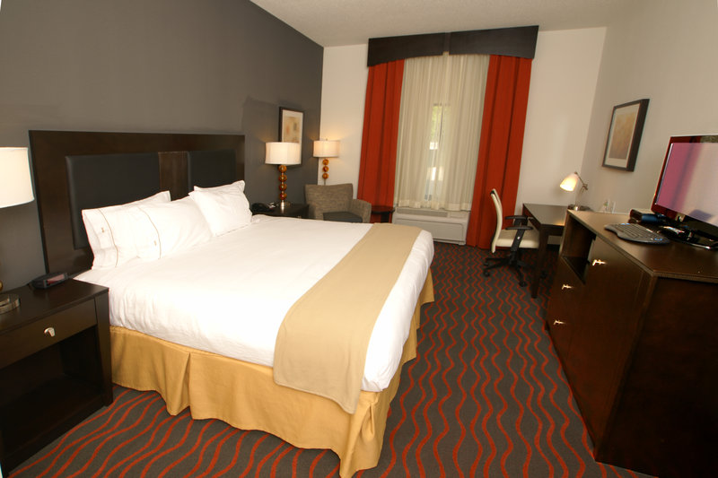 Holiday Inn Express & Suites Festus - South St. Louis-Enjoy free movies in our spacious king executive rooms!<br/>Image from Leonardo