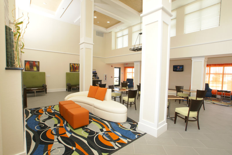 Holiday Inn Express & Suites Festus - South St. Louis-Come lounge around in our dinning room area.<br/>Image from Leonardo
