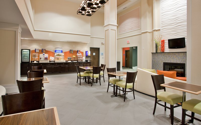 Holiday Inn Express & Suites Festus - South St. Louis-Come enjoy our taste bud fulfilling breakfast in our common area!<br/>Image from Leonardo