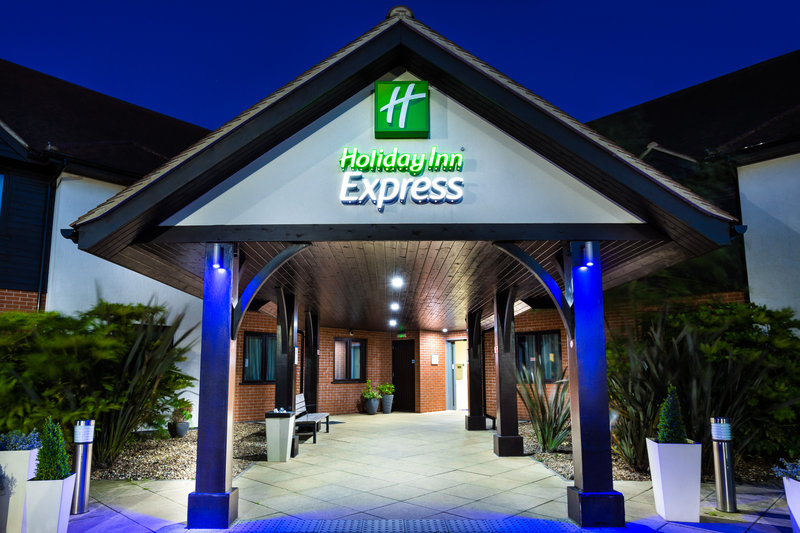 Holiday Inn Express Colchester-Entrance<br/>Image from Leonardo