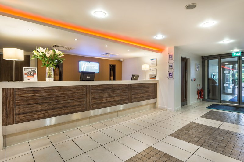 Holiday Inn Express Colchester-Front Desk<br/>Image from Leonardo