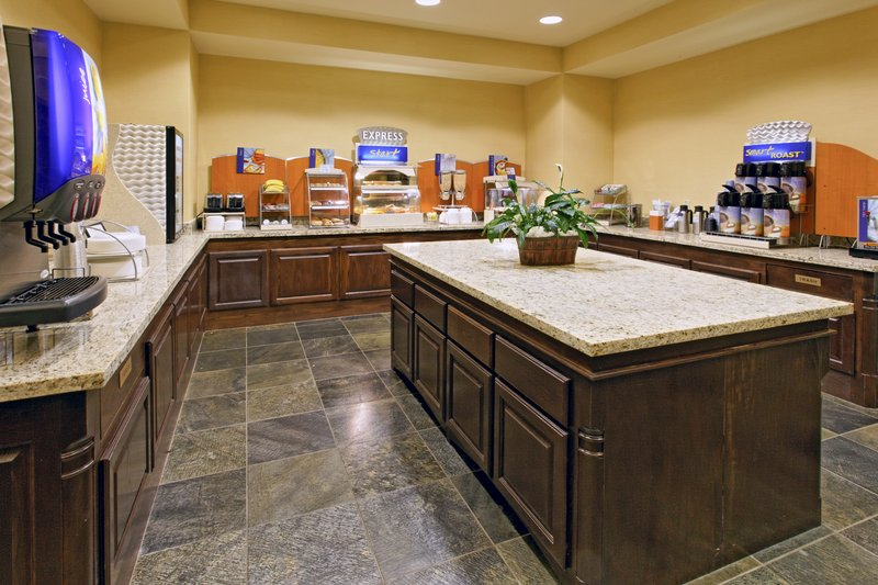 Holiday Inn Express and Suites Weatherford-Weatherford Hotel Breakfast Bar<br/>Image from Leonardo