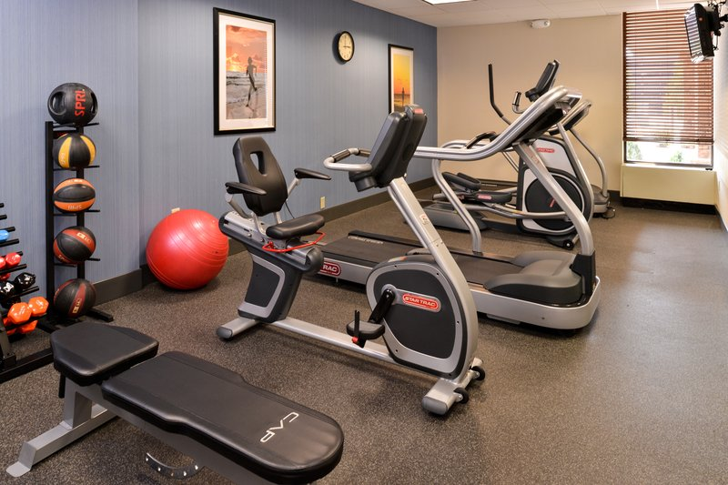 Holiday Inn Express Worcester Downtown-Fully Equipped Cardio Fitness Center<br/>Image from Leonardo