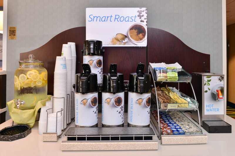 Holiday Inn Express Worcester Downtown-Lobby Coffee Station<br/>Image from Leonardo