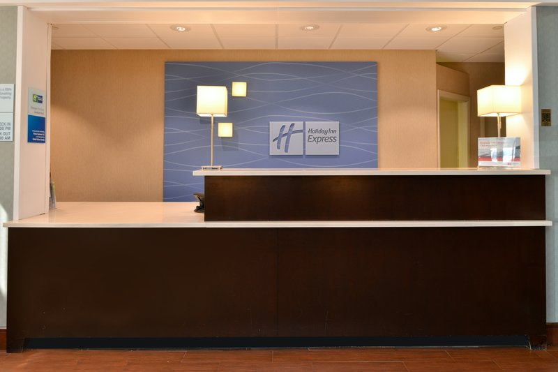 Holiday Inn Express Worcester Downtown-Welcoming Front Desk<br/>Image from Leonardo