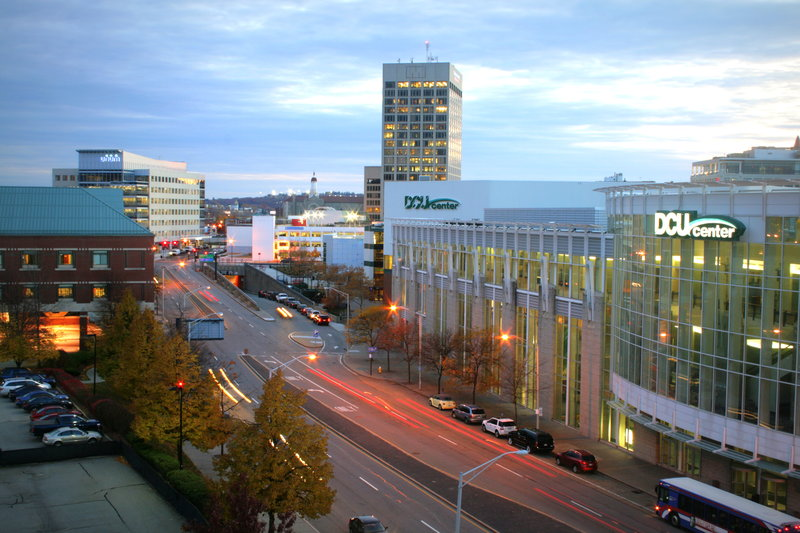 Holiday Inn Express Worcester Downtown-Walking Distance to DCU Center Arena & Convention Center<br/>Image from Leonardo