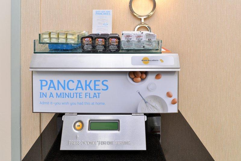 Holiday Inn Express Worcester Downtown-Express Start Pancake Machine<br/>Image from Leonardo
