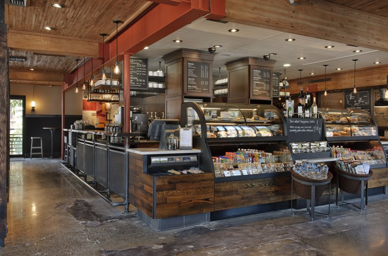 Holiday Inn Express Worcester Downtown-Starbucks Located Next Door<br/>Image from Leonardo